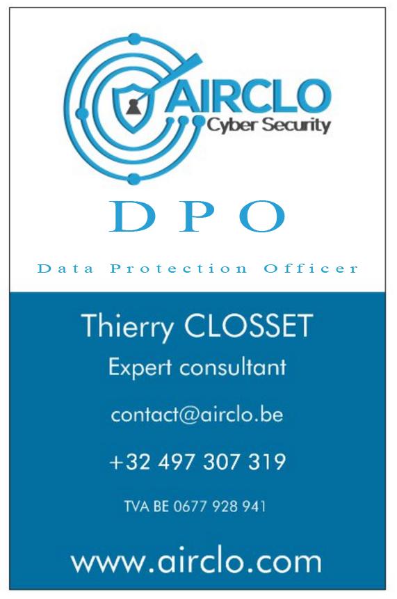 Carte De Visite DPO Airclo